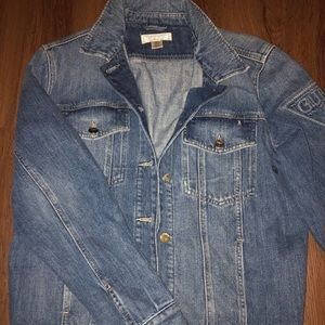 Guess oversized jean jacket size small